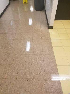 Before & After Commercial Floor Cleaning in St Charles, IL (2)